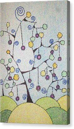 Chrismas Magic Canvas Print by Gousalya Siva