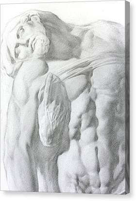 Christ 1a Canvas Print by Valeriy Mavlo