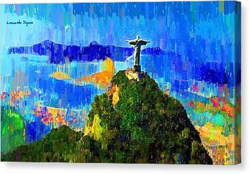 Christ Above All In Rio 1 - Da Canvas Print
