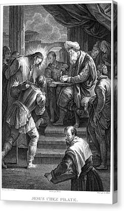 Christ Before Pilate Canvas Print by Granger