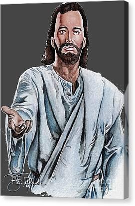 Christ Canvas Print by Bill Richards