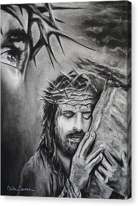 Christ Canvas Print by Carla Carson