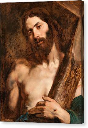 Christ Carrying The Cross Canvas Print by Anthony van Dyck