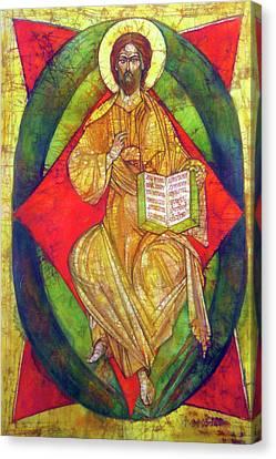 Christ In Majesty I Canvas Print by Tanya Ilyakhova