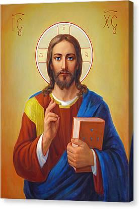 Christ Pantocrator - Cristo Pantocratore Canvas Print