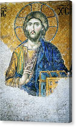 Christ Pantocrator Canvas Print by Dean Harte