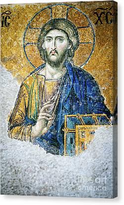 Christ Pantocrator Canvas Print by Dean Harte