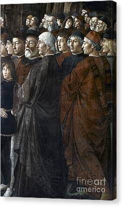 Christ, Peter And Andrew Canvas Print by Granger