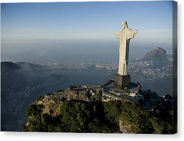 Christ The Redeemer Statue Canvas Print by Joel Sartore