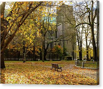 Christchurch Cathedral Canvas Print by Keith Boone