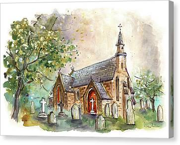 Christchurch In Ugthorpe Canvas Print by Miki De Goodaboom