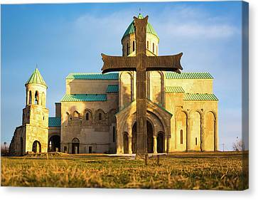Christina Church Canvas Print by Svetlana Sewell