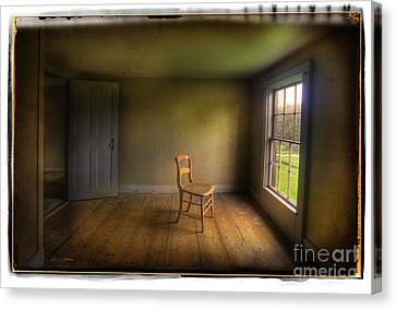 Canvas Print featuring the photograph Christina's Room by Craig J Satterlee