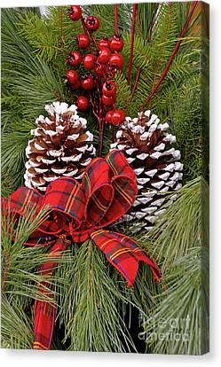 Christmas Arrangement Canvas Print