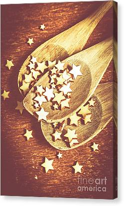Christmas Baking Background Canvas Print by Jorgo Photography - Wall Art Gallery