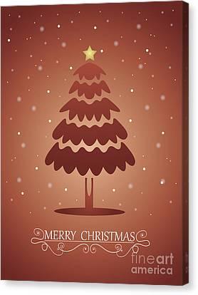Christmas Card 02 Canvas Print by Pablo Romero