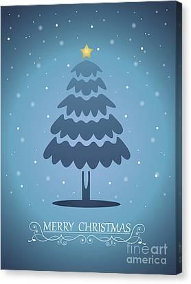 Christmas Card 03 Canvas Print by Pablo Romero