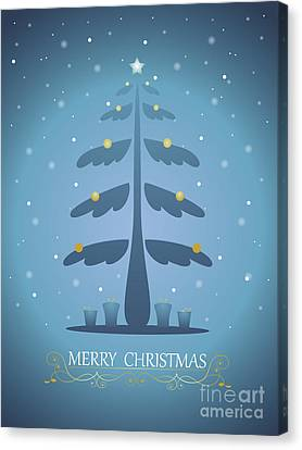 Christmas Card 04 Canvas Print by Pablo Romero