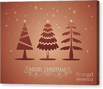 Christmas Card 05 Canvas Print by Pablo Romero