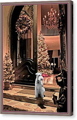 Christmas Carol Canvas Print by Chambers and  De Forge