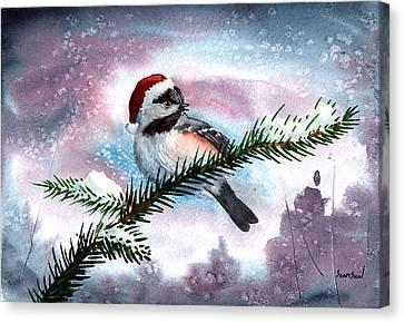 Christmas Chic Canvas Print by Sean Seal
