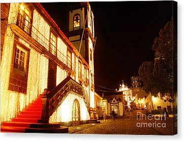 Christmas Decorations Canvas Print by Gaspar Avila