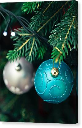 Christmas Decorations Canvas Print