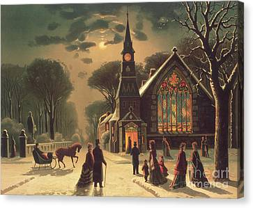 Christmas Eve Canvas Print by J Latham