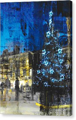 Canvas Print featuring the photograph Christmas Eve by LemonArt Photography