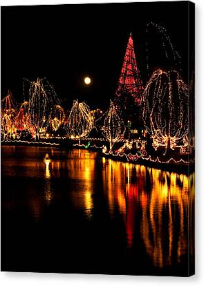 Christmas Glow Canvas Print