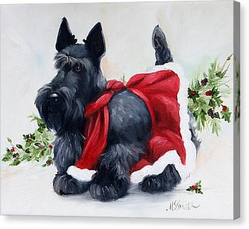 Christmas  Canvas Print by Mary Sparrow