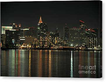 Christmas In San Diego Canvas Print
