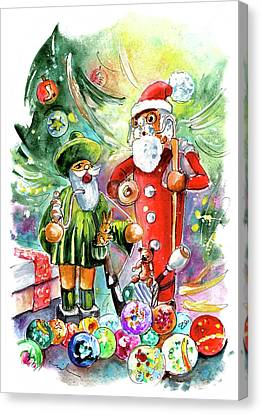 Christmas In York Canvas Print