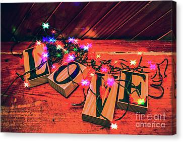Christmas Love Decoration Canvas Print