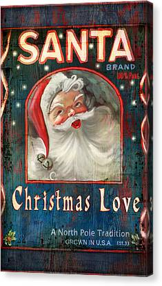 Christmas Love Canvas Print by Joel Payne