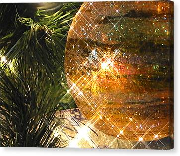 Canvas Print featuring the photograph Christmas Magic by Diane Merkle