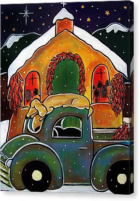 Christmas Mass Canvas Print