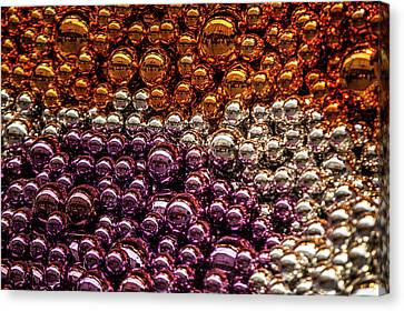 Decorated For Christmas Canvas Print - Christmas Mood by Jenny Rainbow