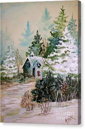 Christmas Morn Canvas Print by Marilyn Smith