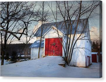 Christmas Morning Canvas Print by Lori Deiter