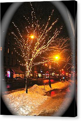 Christmas  Night Canvas Print