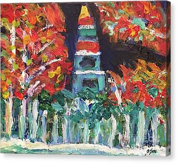 Public Holiday Canvas Print - Christmas On Public Square 2 by Owen McCafferty