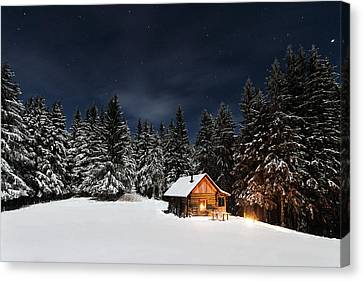 Christmas Canvas Print by Paul Itkin
