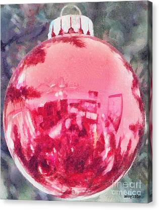 Christmas Reflected Canvas Print