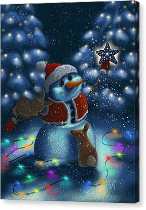 Christmas Season Canvas Print