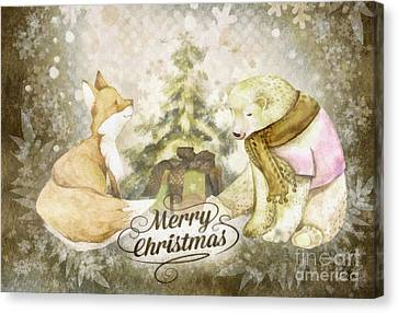 Canvas Print - Christmas Tale by Mo T