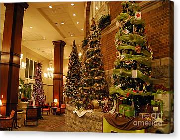 Christmas Tree Canvas Print by Eric Liller