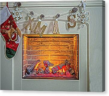 Christmas Warmth. Canvas Print