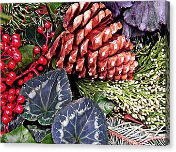 Christmas Wreath 2 Canvas Print