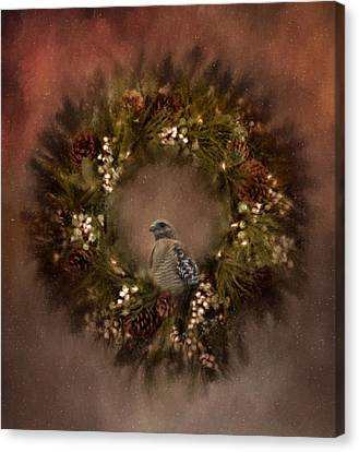 Christmas Wreath Canvas Print